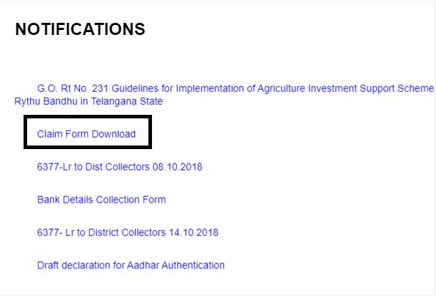 Rythu-Bheema-Pathakam-claim-form-download