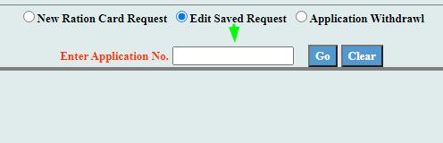 edit saved request