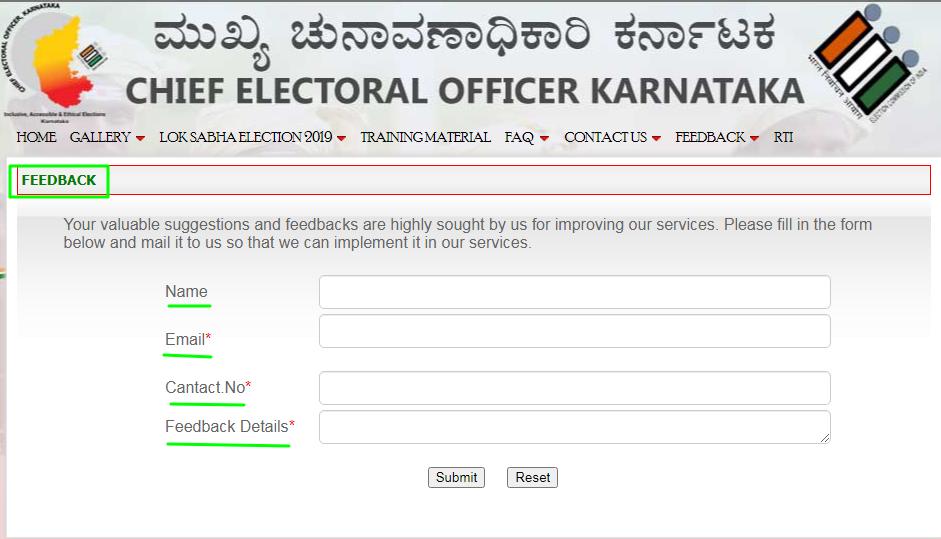 feedback CEO karnataka
