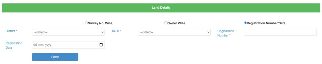 Karnataka-Bhoomi-RTC-registration-method-mutation-land