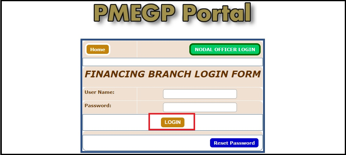 PMEGP registration online