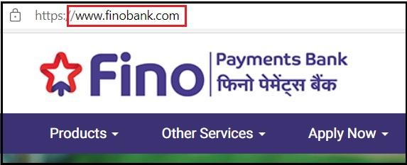 Register Fino Payment Bank CSP